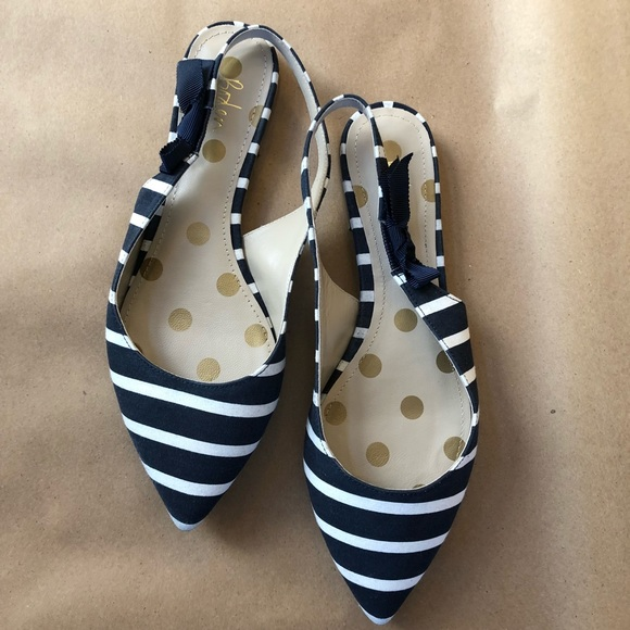 54b09172a08 Boden Shoes - CUTE French Inspired Boden Hilary Slingbacks 💙